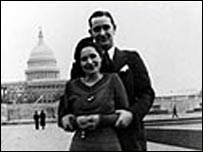 Lady Bird and LBJ in 1930s Washington