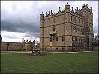 Bolsover Castle and Venus fountain