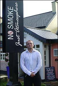 Gavin King at Aubrey Arms