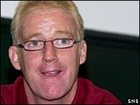Tommy Burns was in charge against Sweden