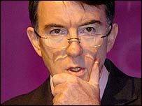 Peter Mandelson, European Commissioner for Trade