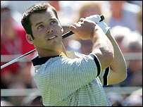 Paul Casey at the Ryder Cup