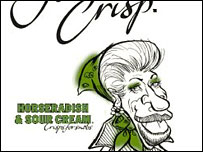 Crisp packet featuring Princess Anne