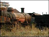 Rusting trains
