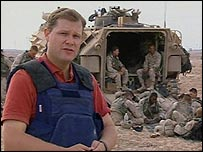 BBC Correspondent Paul Wood
