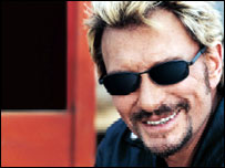 Johnny Hallyday advertises Optic 2000