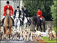 Opening hunt of the 2004 hunt season