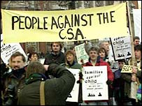 Anti-CSA demonstration