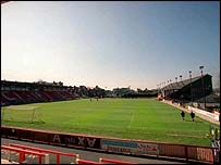 Exeter's St James Park home