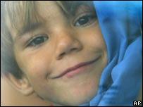 Niño sonriendo.