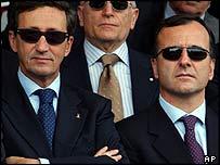 Gianfranco Fini and Franco Frattini