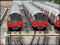 London Tube trains
