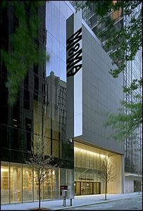 The Museum of Modern, 53rd Street entrance © 2004 Timothy Hursley