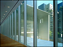 3rd floor with view of the David and Peggy Rockefeller Building - photo (C) 2004 Timothy Hursley