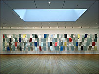 Sculpture for a Large Wall (1957) by Ellsworth Kelly - photo © 2004 Timothy Hursley