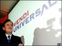 Vivendi Universal chairman Jean-Rene Fourtou