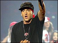 Eminem at MTV Europe Music Awards 2004