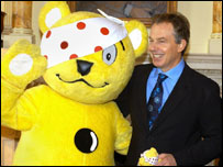 Tony Blair and Pudsey