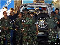 La Polic�a Militar custodia el lugar del atentado (Andrew �lvarez/AFP/Getty Images)