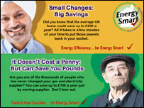 Energy Smart campaign leaflet