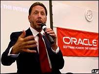 Oracle chief executive Larry Ellison