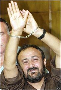 Marwan Barguti, dirigente palestino preso en Israel