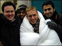 David Ellis, Mike Walker and Nikhil Ladwa