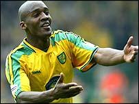 Norwich midfielder Damien Francis