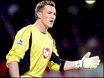 Portsmouth keeper Jamie Ashdown