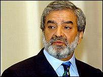 ICC president Ehsan Mani