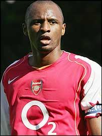 BBC SPORT | Football | Internationals | Vieira calls for ...