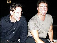 Tony and Simon Cowell