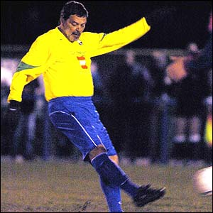 Socrates plays for Garforth Town
