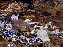 Rubbish and sewage, TVE