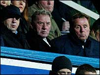 Velimir Zajec, Milan Mandaric and Harry Redknapp