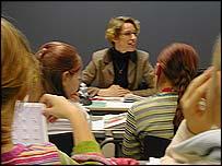 Helsinki classroom