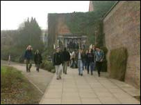 Exeter University students