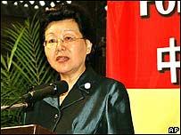 Ma Siujong, viceministra de Comercio de China