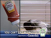 Picture of Heinz advert
