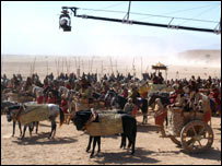 Battle scene in Alexander