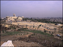 General view of Darb al-Ahmar project