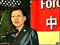 Ma Siujong, viceministra de Comercio de la República Popular China
