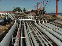 Oil pipelines in Venezuela
