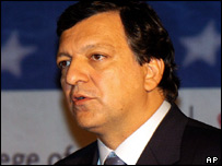 Jose Manuel Barroso, head of the European Commission