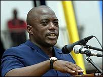 Joseph Kabila, DR Congo's president