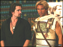 Colin Farrell with waxwork