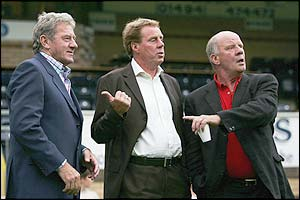 Milan Mandaric, Harry Redknapp and Jim Smith