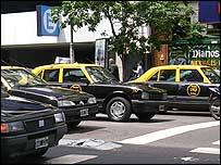 Taxis en Argentina