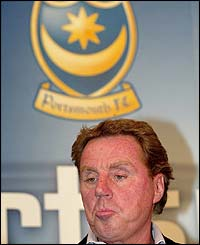 Harry Redknapp announces his resignation from Portsmouth