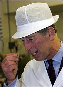 Prince Charles at Edmund Barton Limited